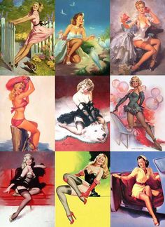 Image detail for -pin up girl or pin up model is a model whose mass produced pictures ...