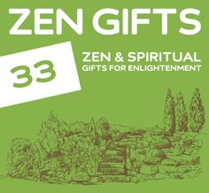 Great list for zen & spiritual gift ideas. Ahhhhh... I feel more relaxed by just reading it.