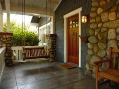 craftsman style home | Craftsman Style Home Architecture & Design Combination of stone and shaker style siding