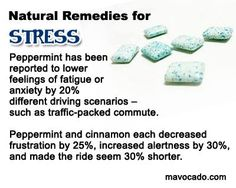 Help to reduce stress