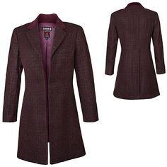 Doctor Who Ladies' 11th Doctor's Purple Coat