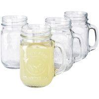 Sur la Table mason jars with handles
