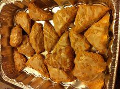 Vanilla bean scones, Ree Drummond's recipe (The Pioneer Woman)