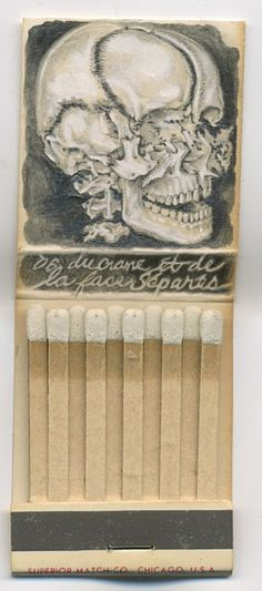 Jason D'Aquino's Matchbook Art