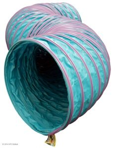 NEW! Agility Standard Tunnel with Purple Rings.
