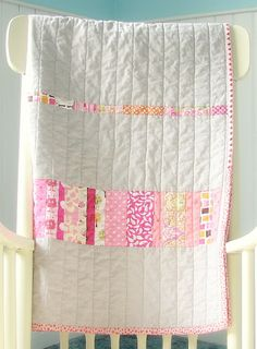 simple baby quilt