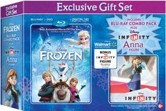 Purchase the Frozen Blu-ray Combo Pack and receive a Disney Infinity Anna Figure while supplies last. http://di.sn/gXM