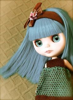 Custom Blythe doll OOAK FBL Simply Sparkly Spark. Etsy