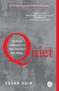 Quiet: The Power of Introverts in a World That Can't Stop Talking by Susan Cain. Argues we dramatically undervalue introverts; shows how much we lose in doing so; charts the rise of the Extrovert Ideal and explores how deeply it has come to permeate our culture; introduces us to successful introverts. Passionately argued, superbly researched, and filled with indelible stories of real people.