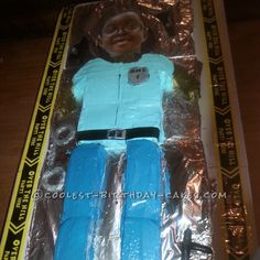 Life-Sized Policeman Birthday Cake... This website is the Pinterest of birthday cake ideas