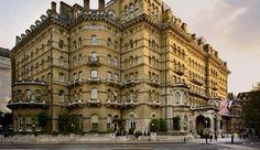 Langham Hotel, London.
