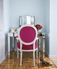 bright chairs make me happy.