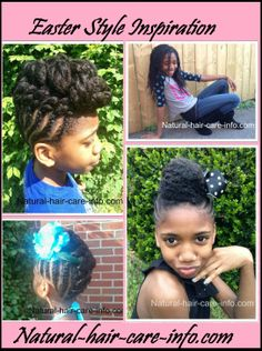 Easter Style Inspiration:  Natural-hair-care-info.com!!