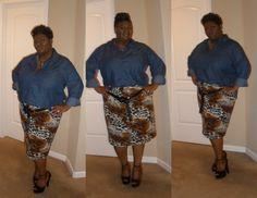 Mimi G 30 minute pencil skirt