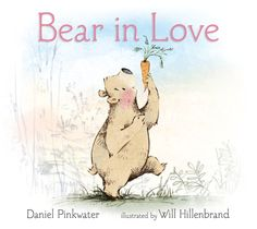 Such a sweet, gentle book for the littlest listeners. Everyone loves bears, especially ones that make up songs!  books4yourkids.com: Bear in Love by Daniel Pinkwater with illustrations by Will Hillenbrand