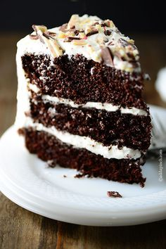 Peppermint Chocolate Cake. Oh my!