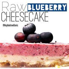 Raw Blueberry Cheesecake