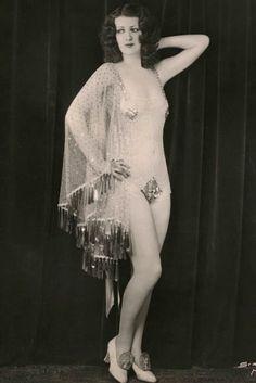 Gypsy Rose Lee in promo for her 1931 appearance in Bill Minksy's Revue
