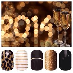 Under stated New Year's nails for the boardroom.
