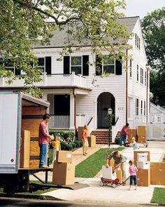 Martha Stewert.com moving tips and checklists