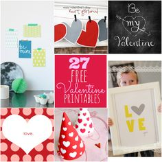 27 Amazing (and Free!) Valentine's Day Printables -- Tatertots and Jello #printables #valentines