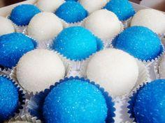 Glittery cake balls...Iffy's Cake Balls