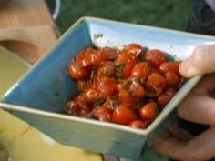Grilled Cherry Tomato Chutney Recipe : Bobby Flay : Food Network - FoodNetwork.com