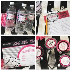 free Bunco Party printables