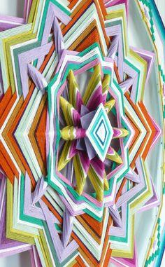 Jay Mohler's Ojos de Dios ~ Yarn Mandalas