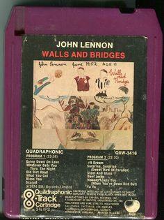 #TapasDeDiscos John Lennon: Walls & Bridges (en formato Magazine)