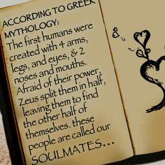 Greek Mythology Soulmates