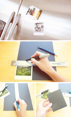 Imanes de Polaroids