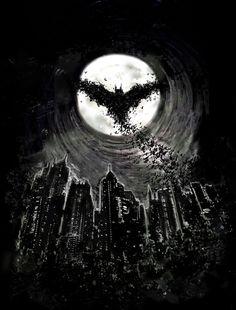 Dark Knight Rises by David Sharp, via Behance. #Batman