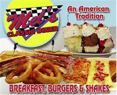 Mel's Diner Pigeon Forge #yum #love #restaurant