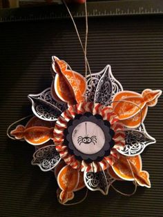 Halloween Ornament by knarlynik - Cards and Paper Crafts at Splitcoaststampers