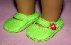 embroidery patterns, doll shoes