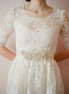crystal bridal belt