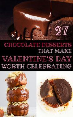 27 Chocolate Desserts That Make Valentine's Day Worth Celebrating