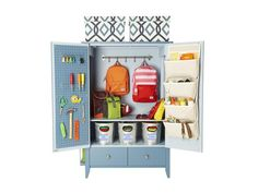 For the Mudroom - DIY Home Storage: Cabinets and Shelving on HGTV
