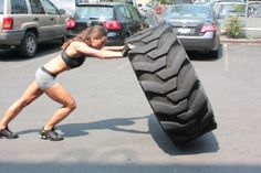 Love tire flips at Xtreme!