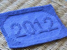 One Crafty Mama: 2012 Dishcloth
