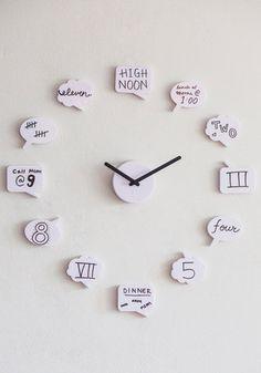 Cute clock!