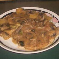 Stovetop Pork Chops and Potatoes