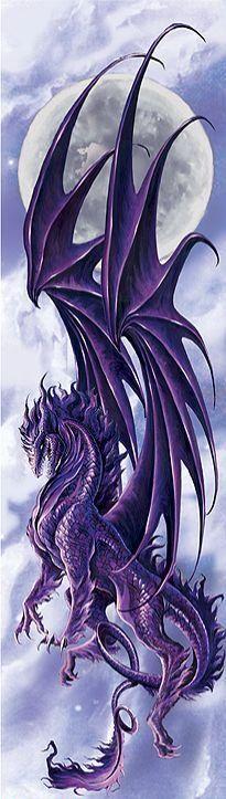 clouds, drawings, fantasi, thingsdraconi moon, beauty, tattoo, beauti art, design, purple dragons