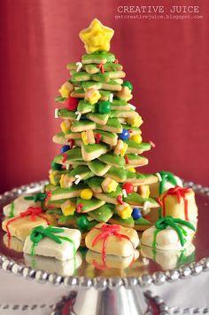 {TUTORIAL} 3D cookie christmas tree tutorial - Creative Juice