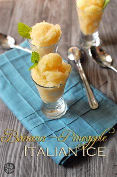 Banana Pineapple Ice