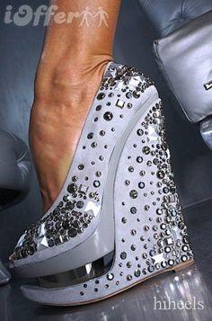 Gianmarco Lorenzi Wedge Shoes