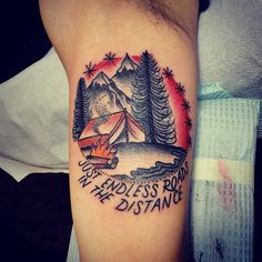 1000 Images About Camping Tattoo On Pinterest Ink