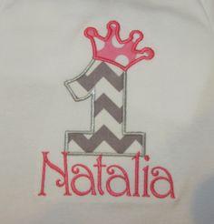 Girls Birthday Shirt or Bodysuit YOU DESIGN by SweetLilDesigns, $22.00