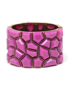 We love how the #purple mix well with the metal #rivets!